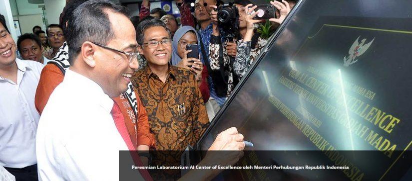 Peresmian Laboratorium AI Center of Excellence oleh Menteri Perhubungan Republik Indonesia